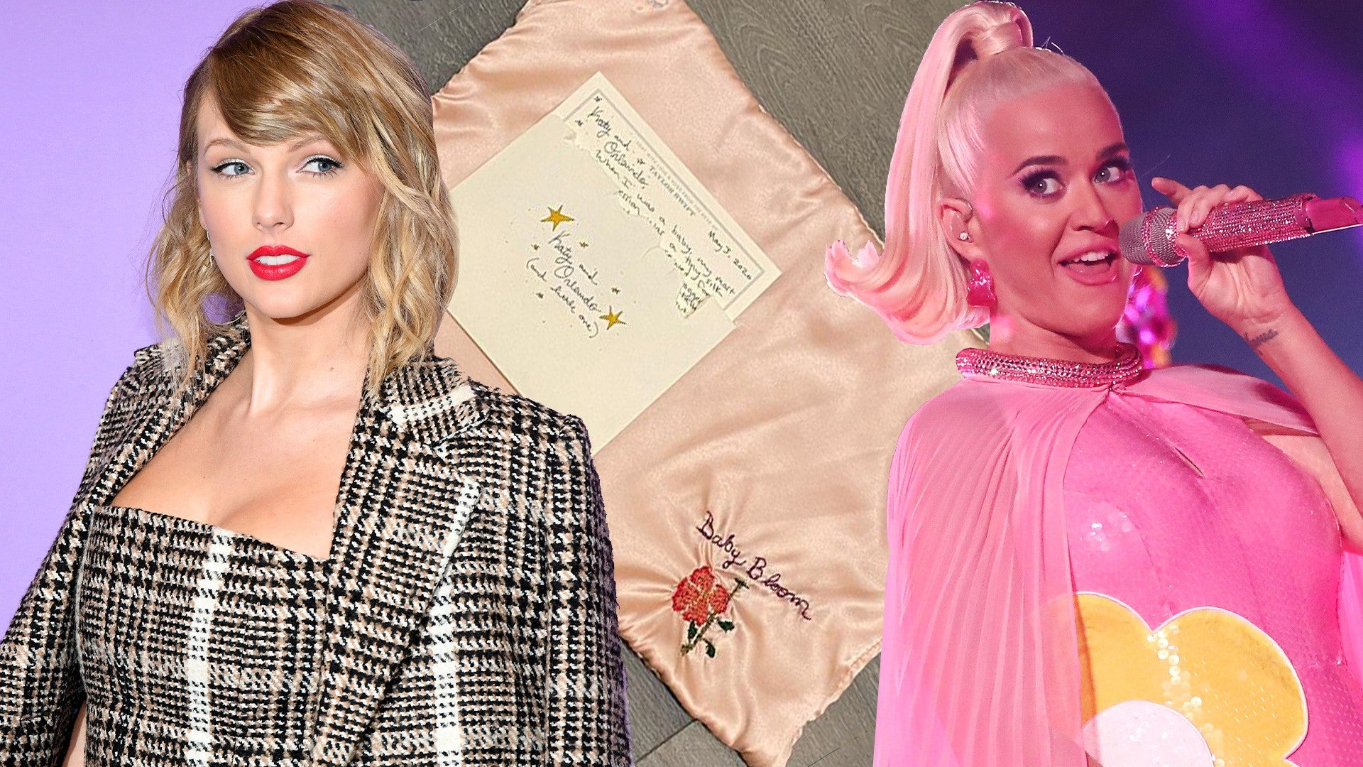 Taylor Swift Sends Katy Perry S Daughter Daisy A Hand Embroidered Blanket Entertainment Tonight