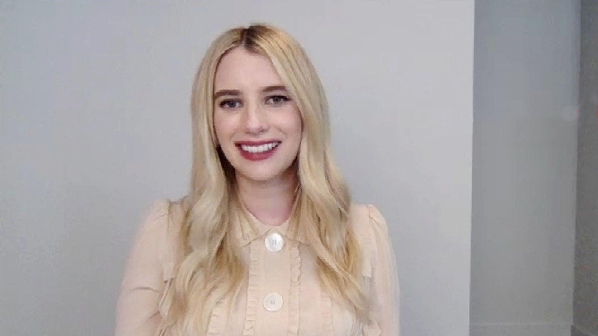 Emma Roberts And Luke Bracey Talk Netflix S Holidate Romantic Comedy Exclusive Entertainment Tonight