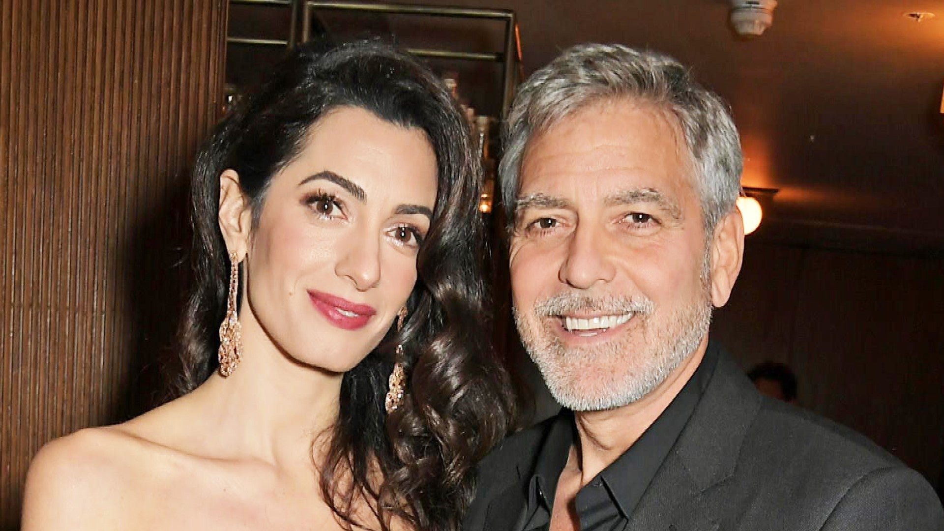 George Clooney Opens Up About How Amal Changed Everything For Him Entertainment Tonight