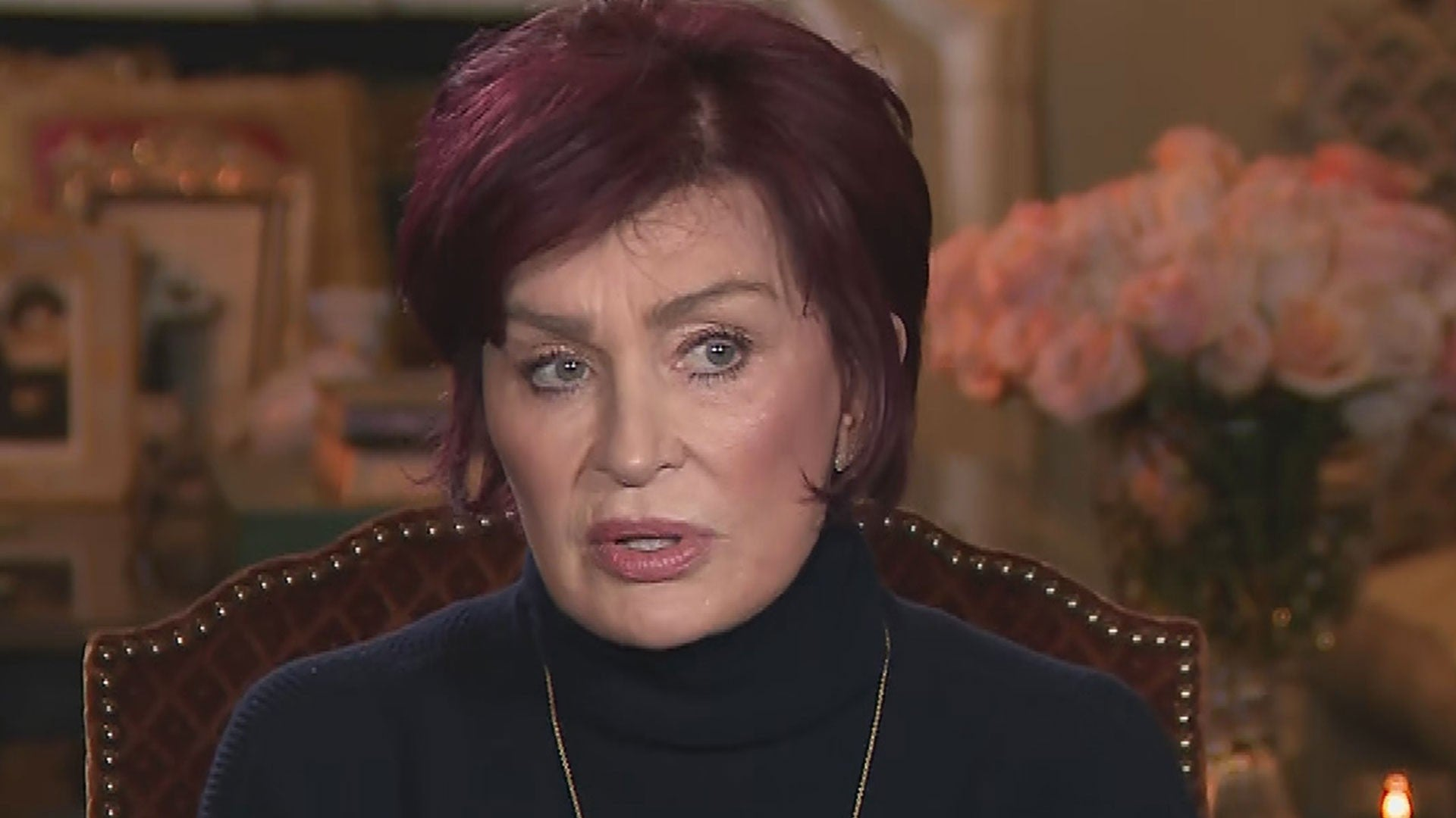 Sharon Osbourne On Her Future With The Talk Says She Never Should Have Dismissed Sheryl Underwood Entertainment Tonight