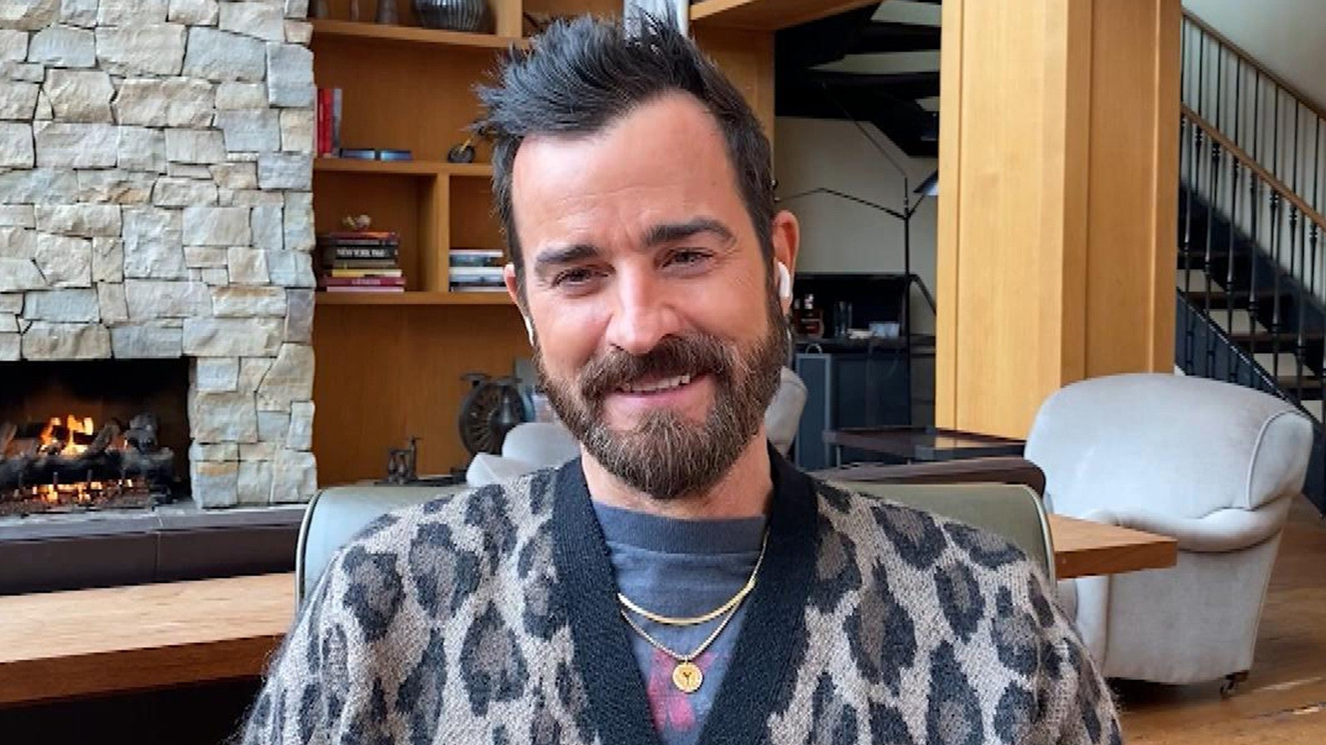 Justin Theroux Says He Would Totally Guest Star On Ex Jennifer Aniston S The Morning Show Exclusive Entertainment Tonight