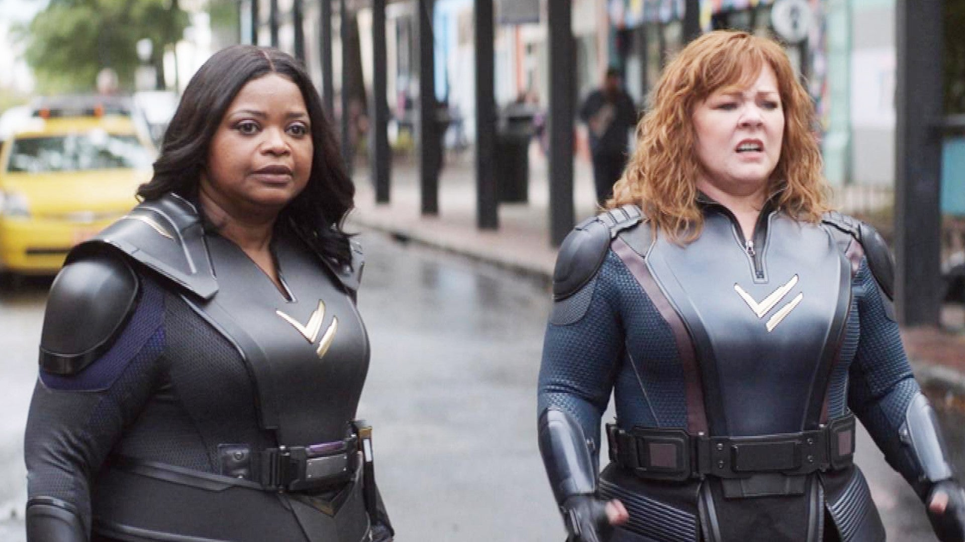 How Melissa McCarthy and Octavia Spencer Became Superheroes in 'Thunder  Force' (Exclusive) | Entertainment Tonight