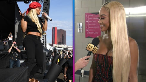 Saweetie Says She Wore Her Airport Outfit to Perform at iHeartRadio Music Festival (Exclusive)
