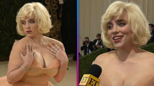 Met Gala: Billie Eilish Channels Marilyn Monroe!