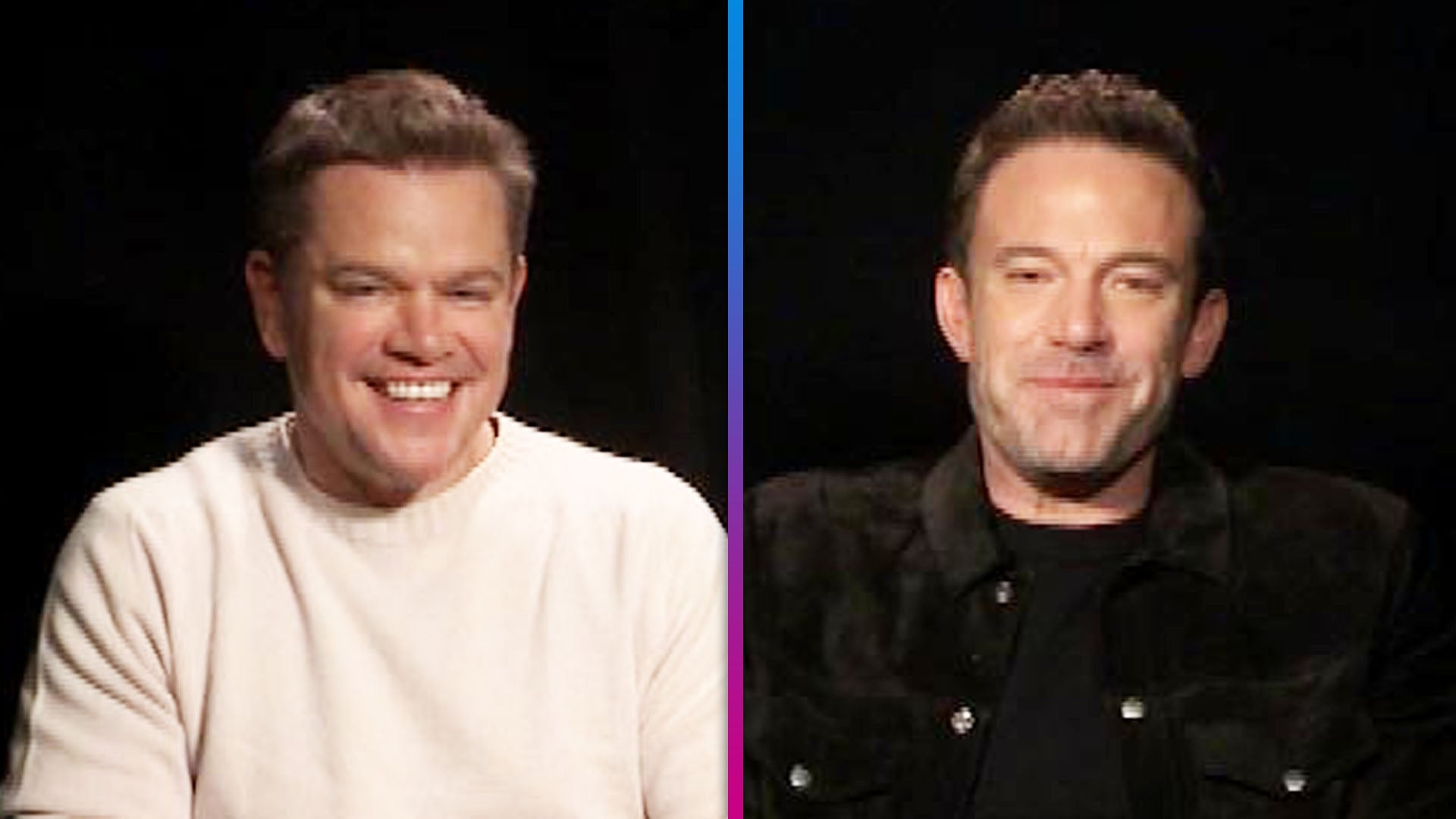 Ben Affleck Reveals His Kissing Scene With Matt Damon Was Cut From 'The Last Duel' (Exclusive)