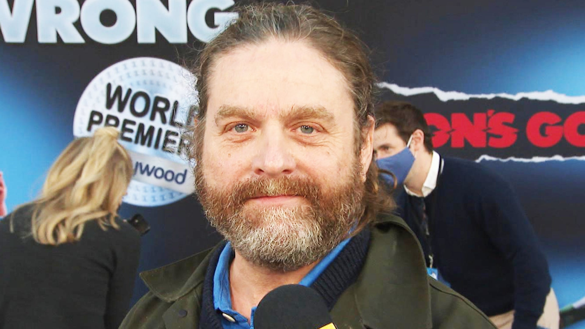ZachGalifianakisSays His Kids Can't See 'The Hangover' But Can See His New Disney Film (Exclusive)