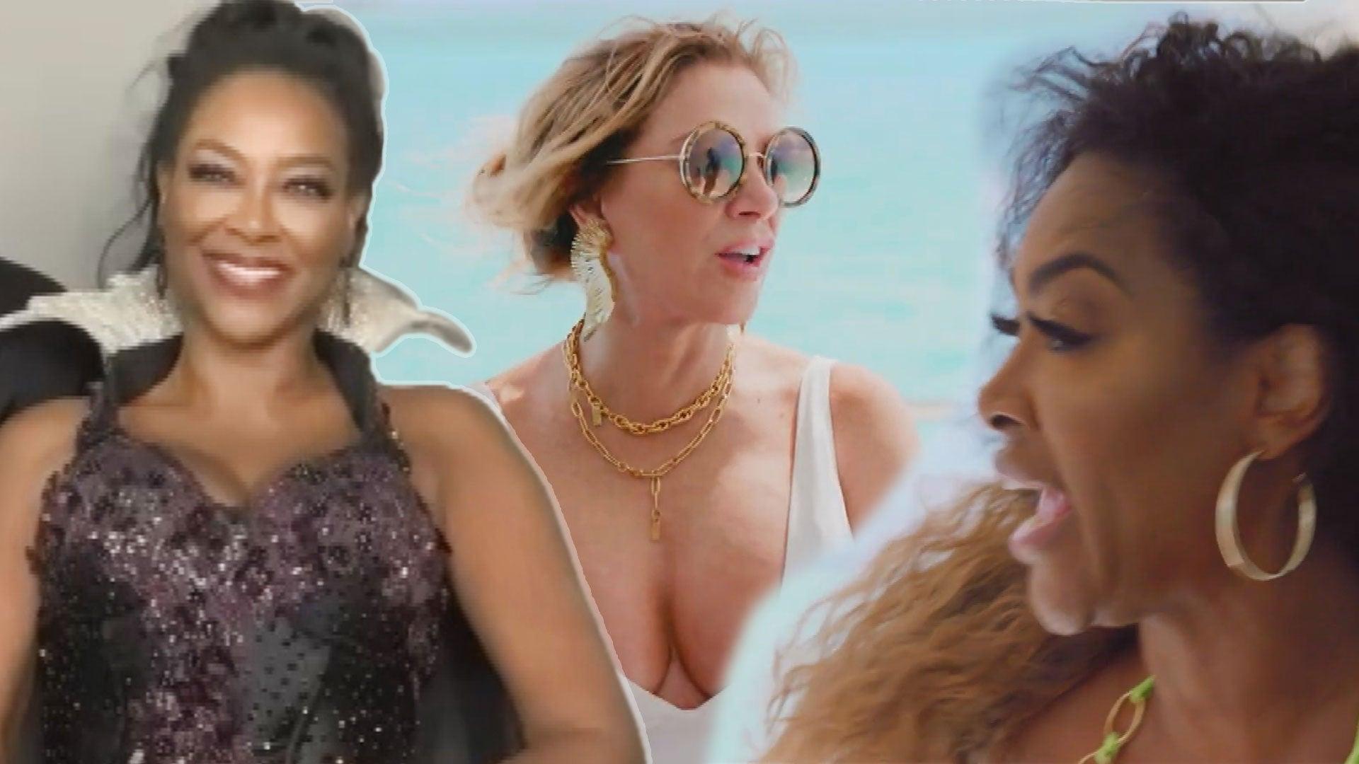 Kenya Moore Explains Her 'Real Housewives Ultimate Girls Trip' Feud With Ramona Singer (Exclusive)