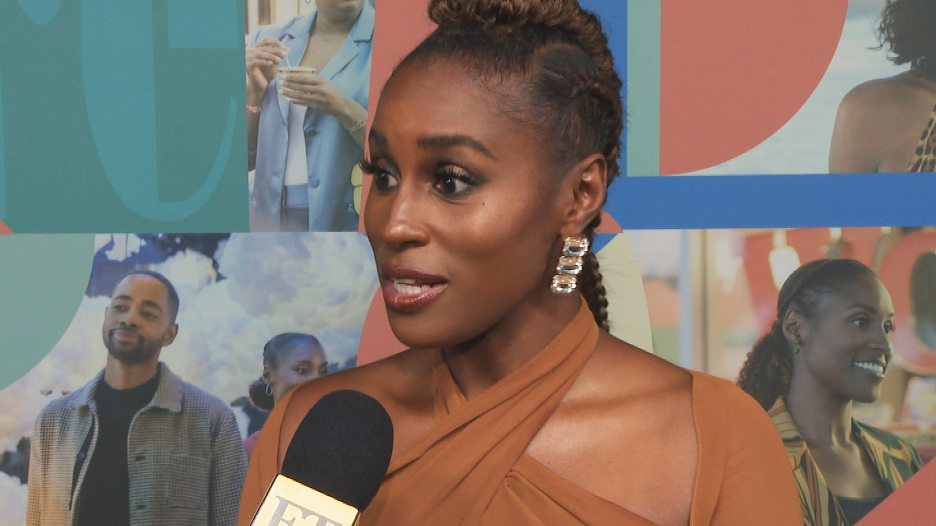 Issa Rae on Ending 'Insecure' and Being 'So Dumb' Not to Steal Anything From Set! (Exclusive)