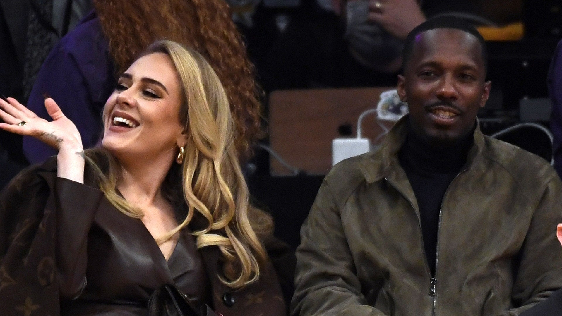 Inside Adele and Rich Paul's NBA Date Night!