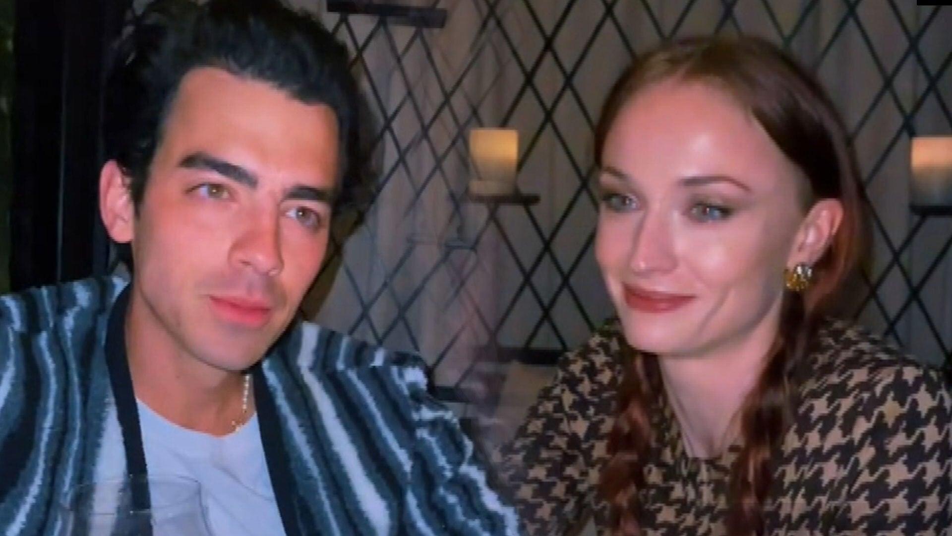 Joe Jonas and Sophie Turner's ROMANTIC Anniversary Date on TikTok
