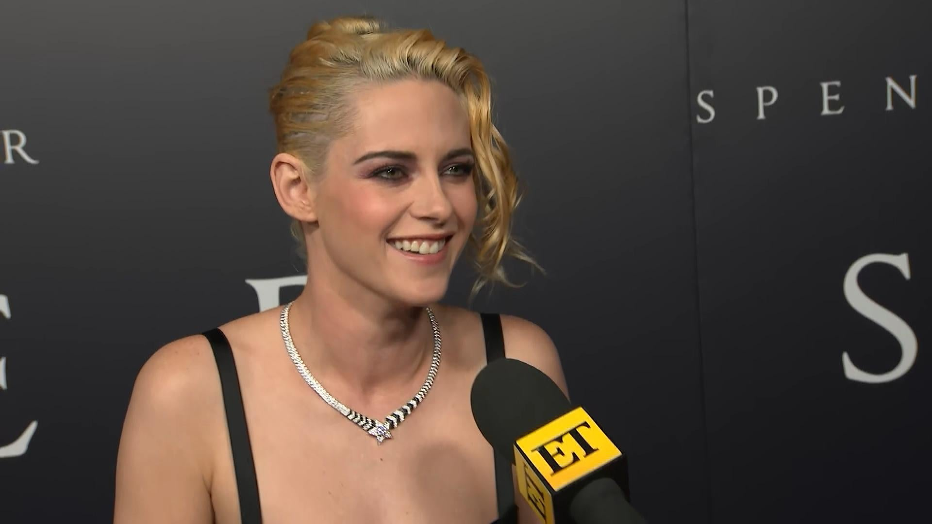 Kristen Stewart Admits It Was 'Spooky' to Wear Princess Diana's Iconic Wedding Gown (Exclusive)